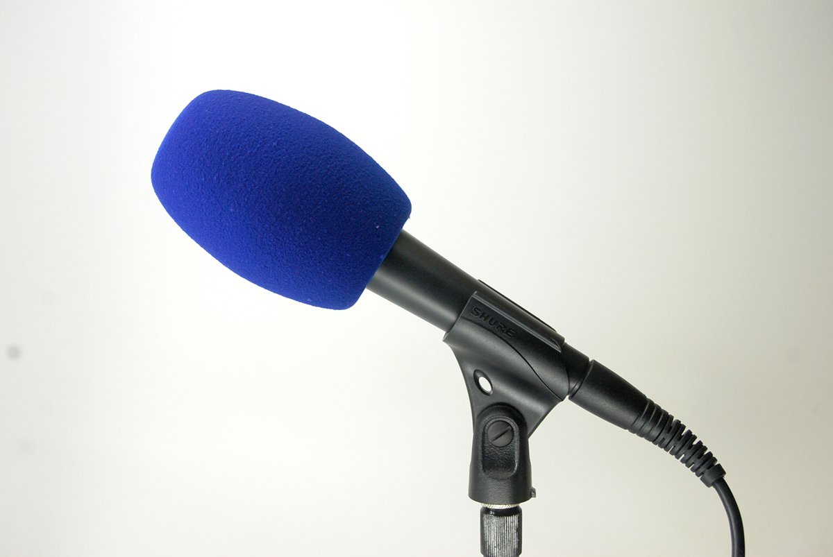 Bonnette Antivent Microphone